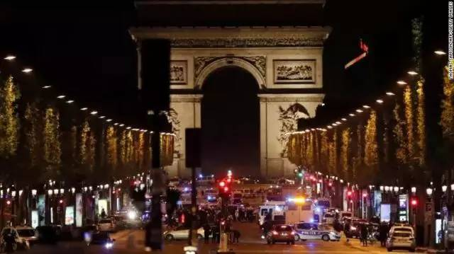 In the busiest streets of Paris, police killed, IS announced responsibility