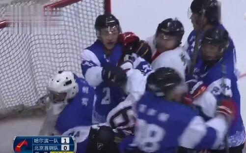 Brawl! The Ice Hockey Championships brewing conflict Ying Da's son was heavy face