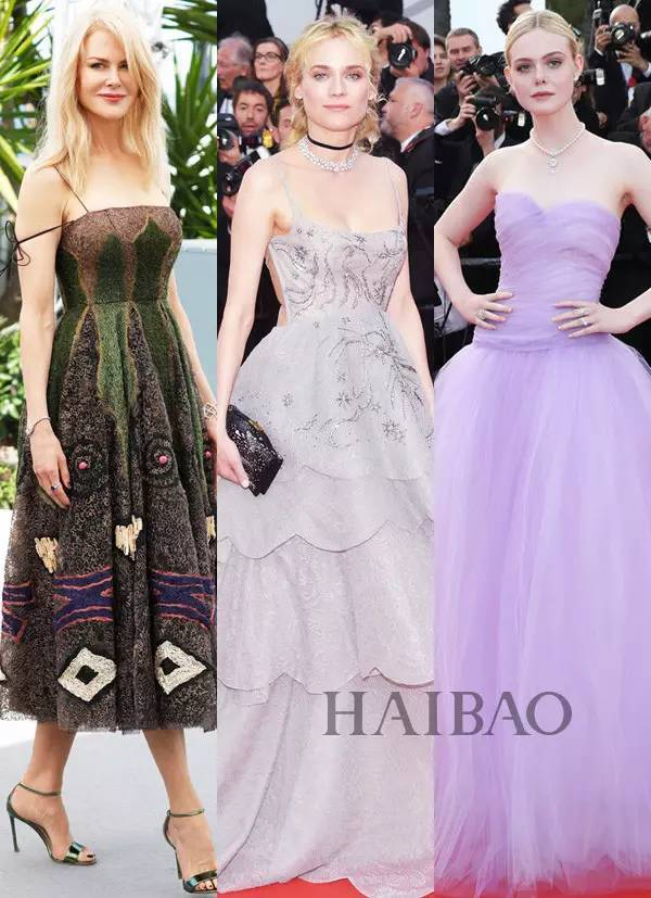 God | Liu Wen Fan Bingbing even Zhuangshan! And my eyes are only 49 years old Nicole Kidman...
