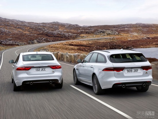 Jaguar XF Sportbrake official map released