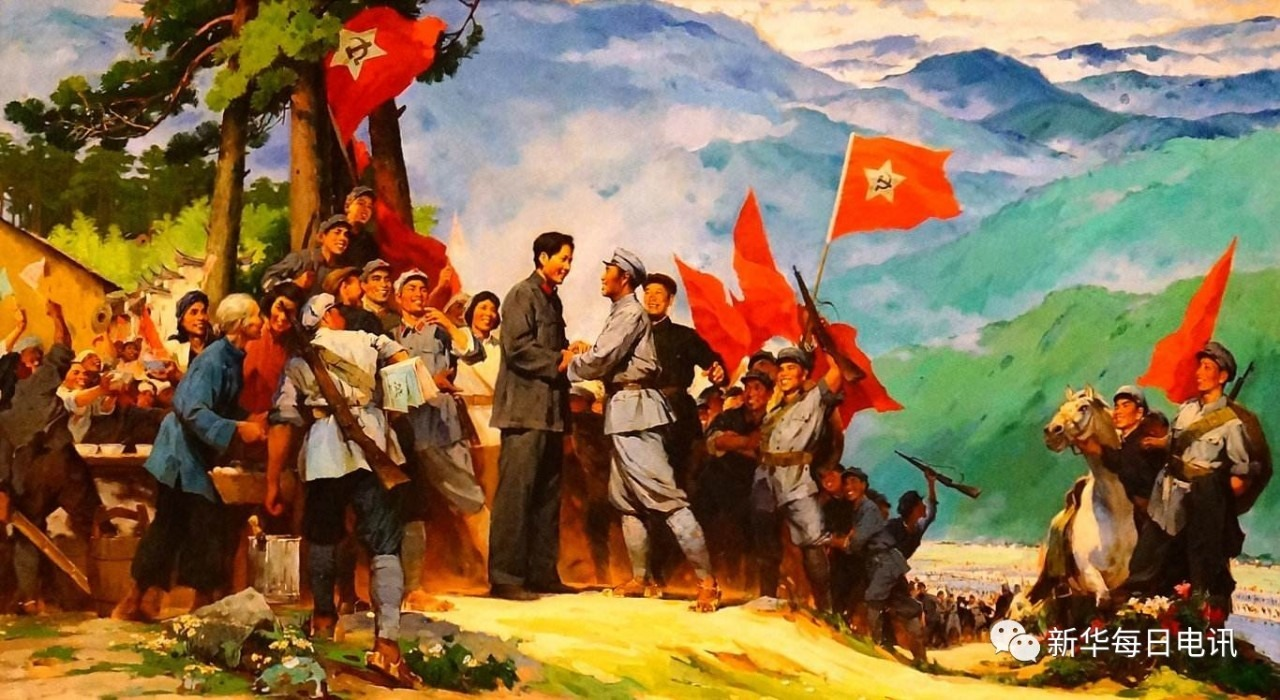 a history of the long march of the red army of china