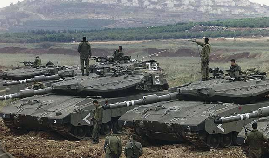 The Israeli fire artillery shot a red line to the Syrian army, and it would go beyond one step to make a full blow.