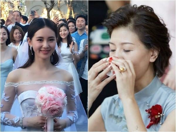 Liu Shishi's wedding fire her mother, all the stars mother to demonstrate the best to wear at the wedding!