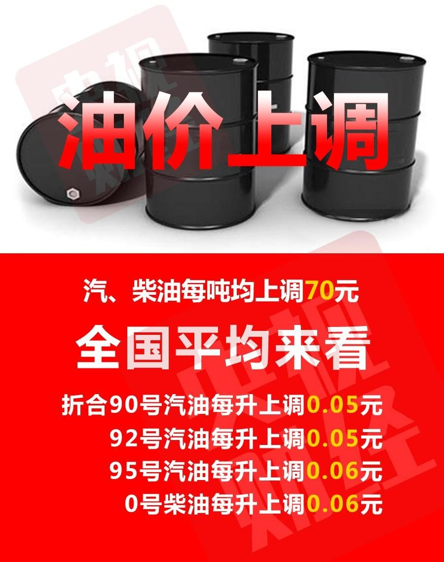 Domestic oil prices rise eleventh times in the year! It takes 2.5 yuan to fill up a box of oil.