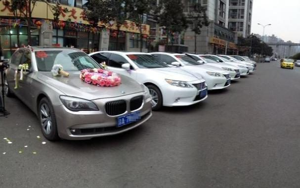 The most photographed wedding car car list: for the lowest BMW