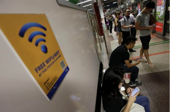 Singapore tourist Internet addiction Asia's largest 80% thinks hotel Wi-Fi is extremely important