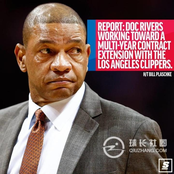 Clippers and Coach Rivers Reach a Multi-year Renewal Contract