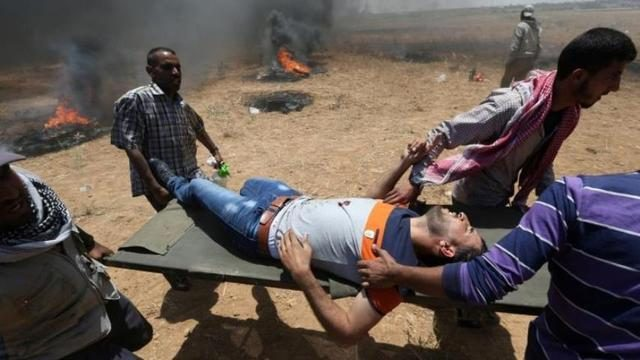 The senior officials compared the Palestinian victims to the Nazi and the council members remarked: The bullets have some