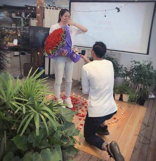 The Volleyball Goddess Yang Yijing Accepted Proposal On Her Birthday And Boyfriend Carefully Planned