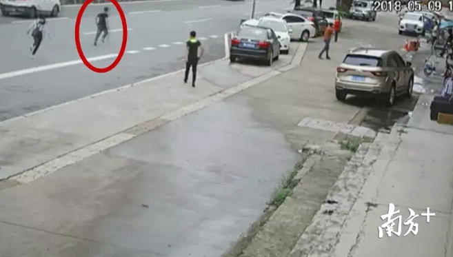 Look at the roadside as a high-risk object being robbed, and the bridgehead police sent a case to say