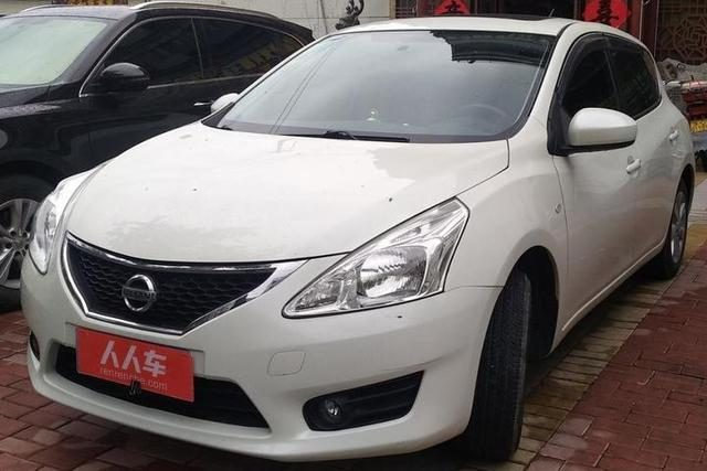 Nissan Tiida 1.6LCVT smart, the benefits of fuel-efficient club friends, riders have come