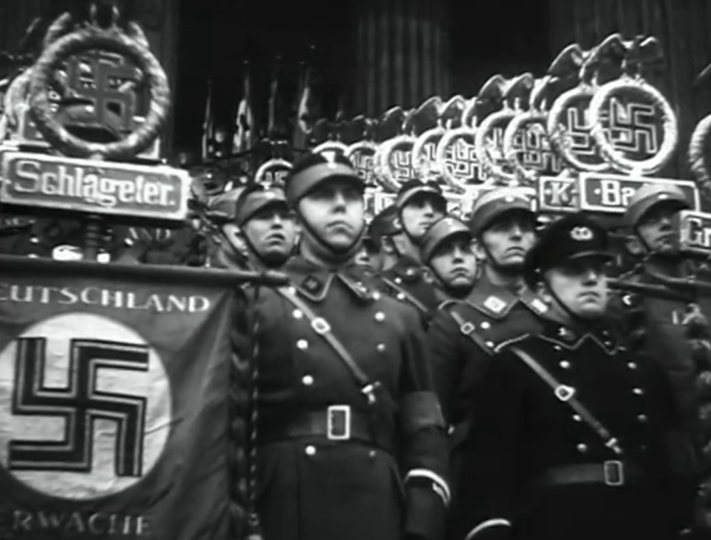When Hitler gained power, the Nazi rally showed the devil's carnival