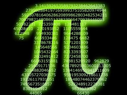 Is there a day when the pi is counted?  After listening to the scientist's explanation, I suddenly realized