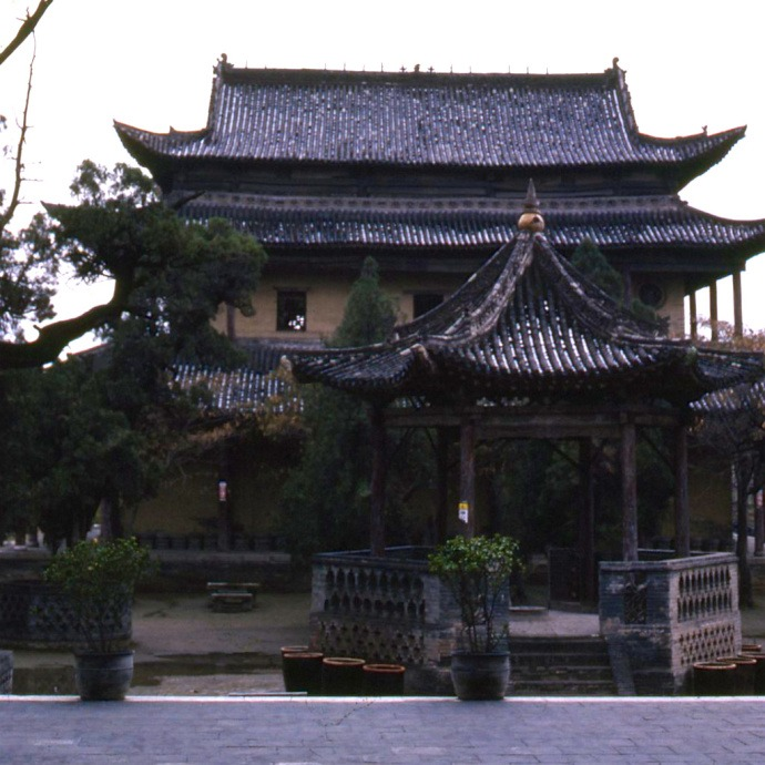 Old photos|1987, Linyi, Shanxi, ancient built group