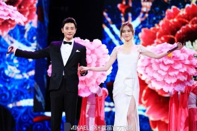 Don Juan Gaoding wedding dress is too sweet?  And Liu Shishi Yang Mi AB wedding competition, who is more beautiful?