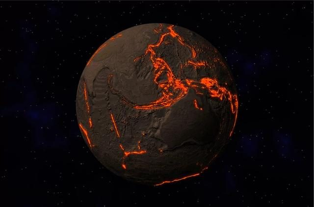 New discovery: the earth drags huge amounts of sea water into the depths of the mantle