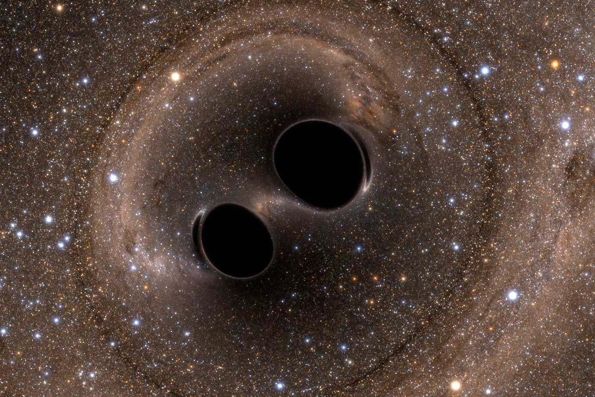 5 billion light years away!  80 solar qualities!  The biggest double black hole in history has merged and appeared!