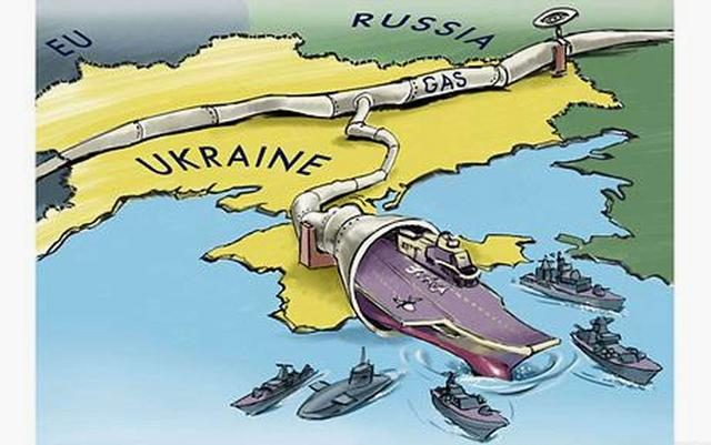 Ukraine suddenly took the nuclear weapons and said that it would scare Russia away?  no way!