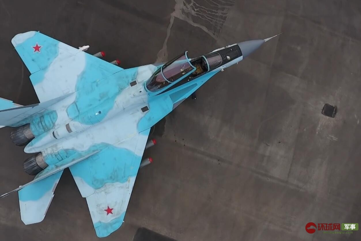 Performance is close to the fifth generation machine?  Russia's latest version of the MiG 35 mass screen