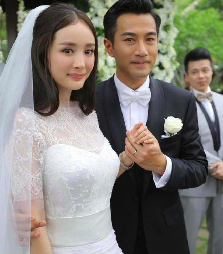 Yang Mi wedding ring is small, the poor size is not right, more than 10 times smaller than the baby