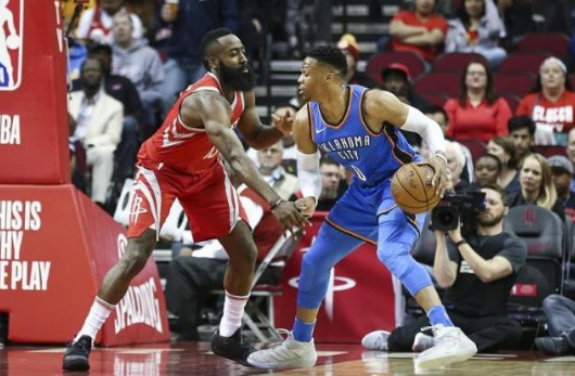 Live NBA: Thunder VS Rockets Harden Wei renewed the leading edge of the small show