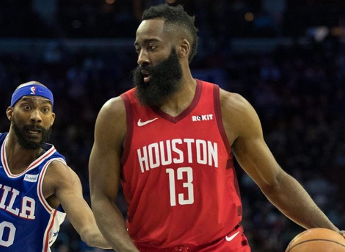 Harden cut 30 + in 20 consecutive games, ranking fifth in history