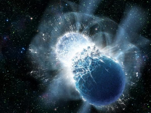 How fragile is the earth? What happens if only a small neutron star collides with the Earth?
