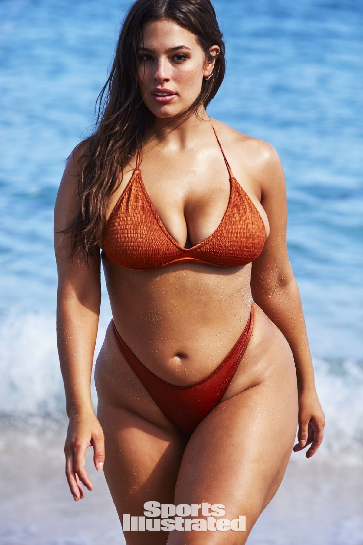 170 kg model, she became the world's top supermodel by her sexy charm