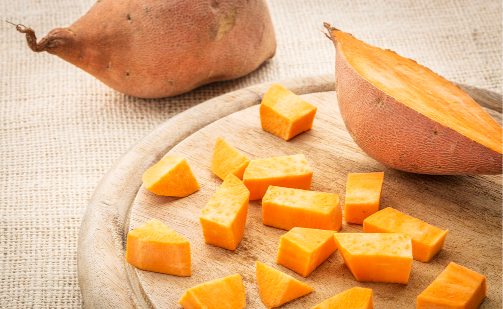 Sweet potatoes are good for babies. Have you eaten them for babies?