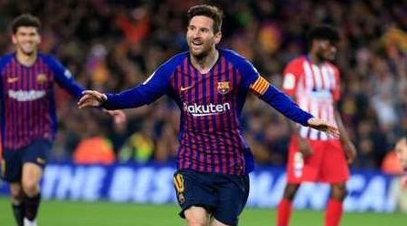 Barcelona 2-0 Richmond Atletico 11 points lead Messi to break through Su Shen Jianggong