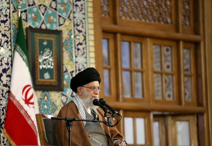 Iran's Supreme Leader shouted to Iraq to expel US troops as soon as possible