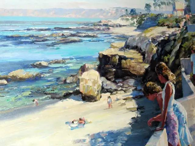 美国画家Howard Behrens,世界最著名的油画调色刀画家作品欣赏