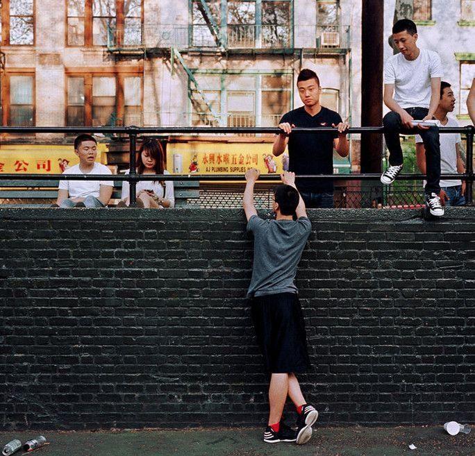 实拍美籍华人,有着自己的圈子