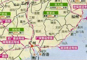 為什么?福州?到廣州沒有直達火車?