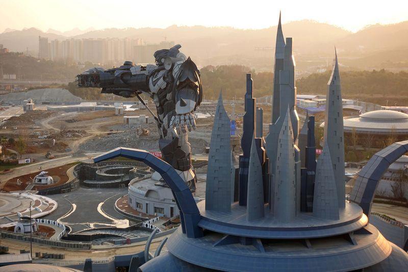 """国内首个虚拟现实公园""""东方科幻谷""""在贵州建成并投入使用"""