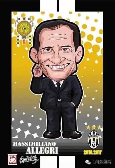 漫画回顾,上赛季与巴萨竞争欧冠冠军的尤文图斯有多哪些球星?