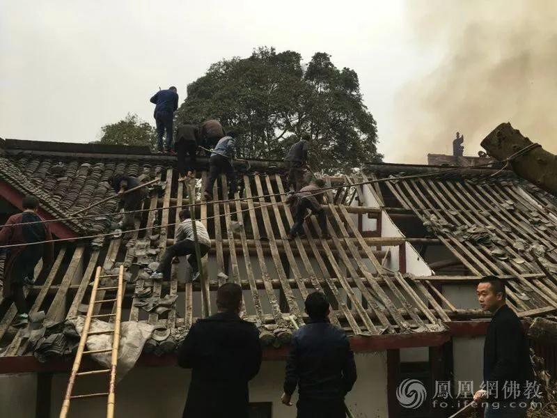 """彭州法藏寺被大火""""烧没了""""?真相在这里!"""