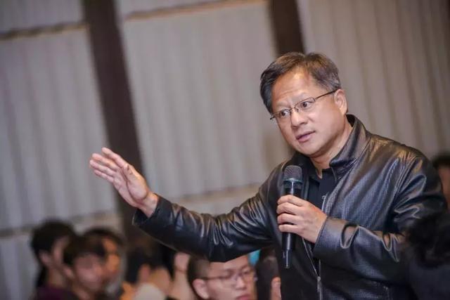 黄仁勋赞区块链:有机会成为NVIDIA成长主力
