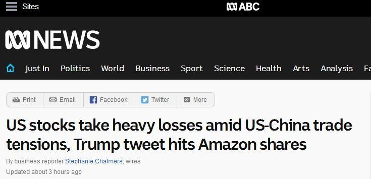 果然,又崩了!中美摩擦升温 美股创大萧条以来最差4月开局!