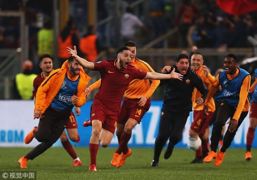 「赛事分析」欧冠 - 罗马3-0逆转巴萨进4强
