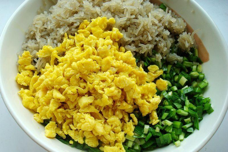 粗粮细作的玉米面韭菜鸡蛋馅饼