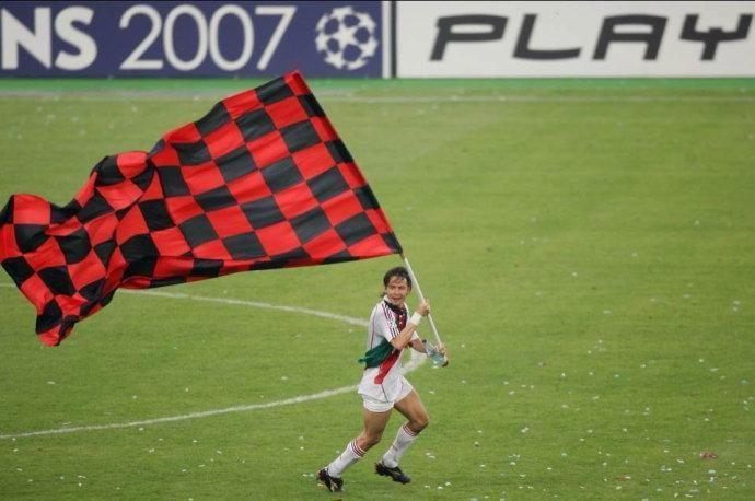 米兰队史上的今天:2007年因扎吉梅开二度米兰第七次欧冠夺魁