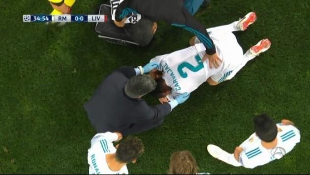 第一右边卫太悲催!欧冠决赛30分钟又受伤 恐无缘世界杯