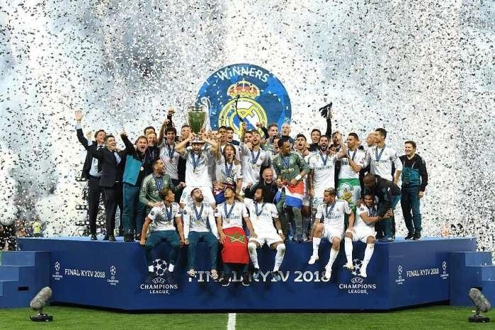 霸气! 欧冠三连冠, 这是属于齐达内和皇家马德里的时代!
