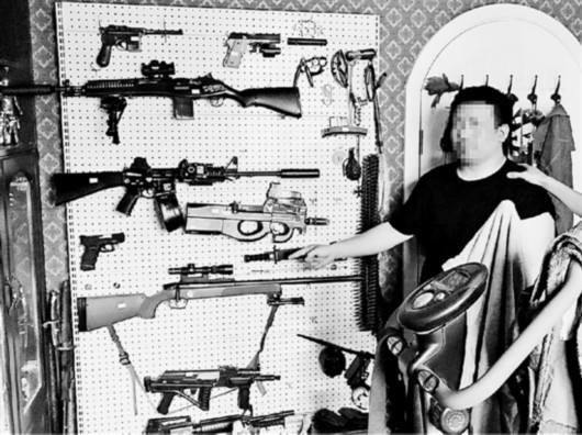 狗代表枪狗粮代表子弹 贩枪微商圈用暗语交易被捕