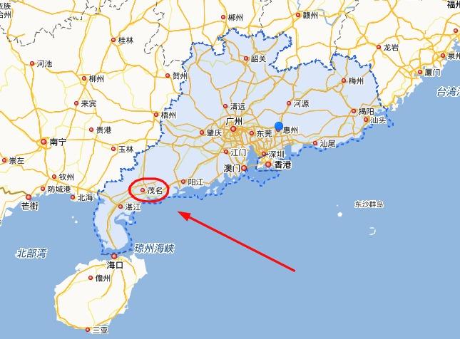 为什么茂名流出人口数量在广东是最多?