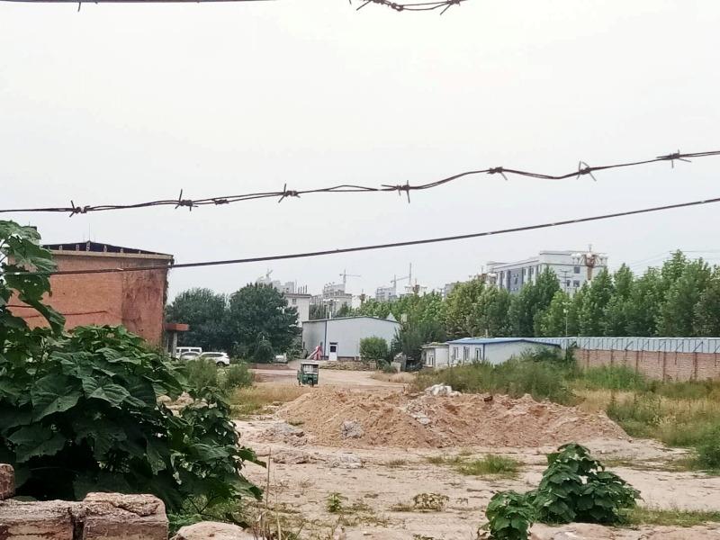 """衡水武邑县一楼盘""""圈地""""就售楼_存在很大风险"""