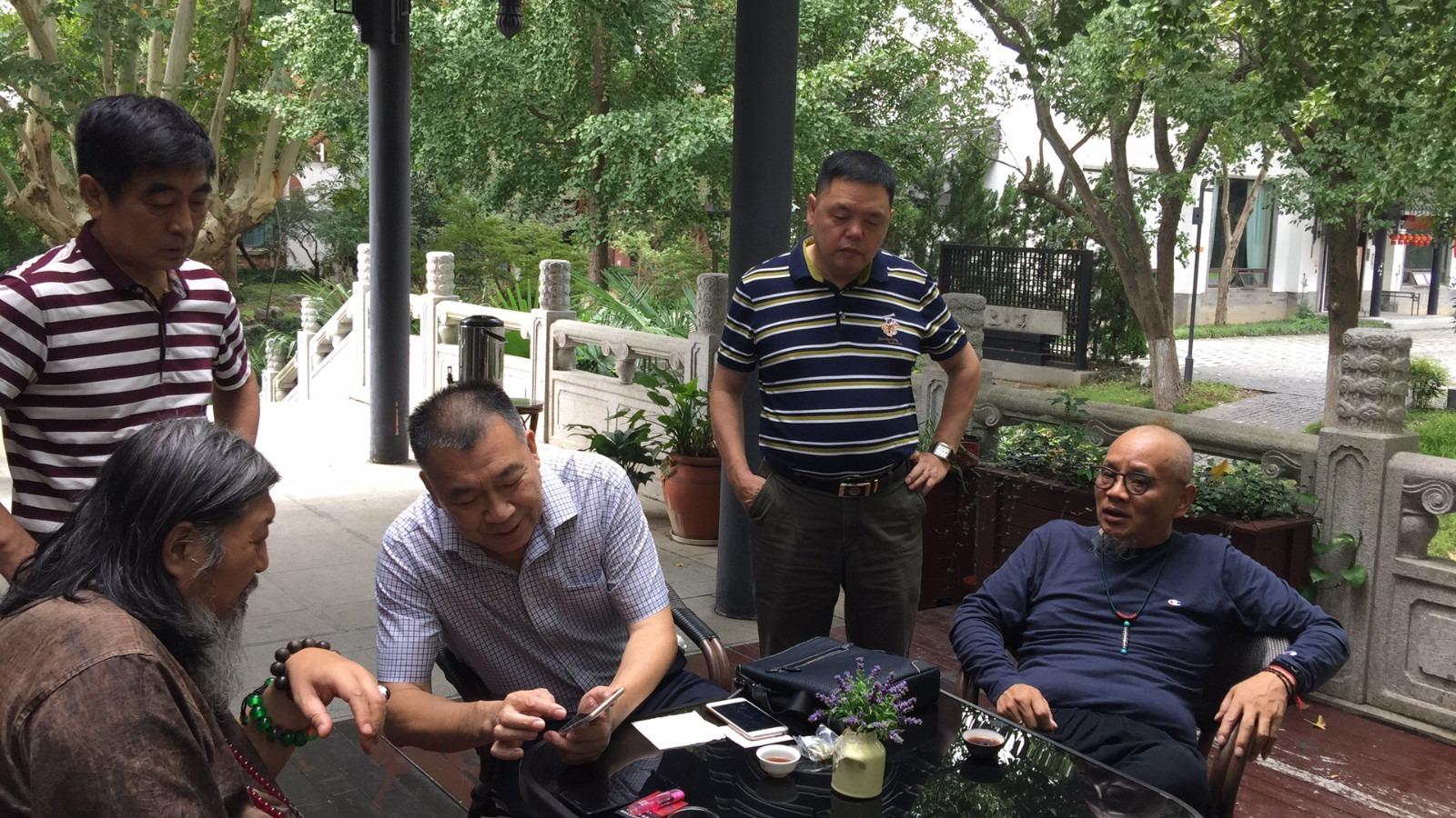 """独家:""""王妃""""张宁、杨澜和北京领导,莅临十朝历史博物馆考察"""