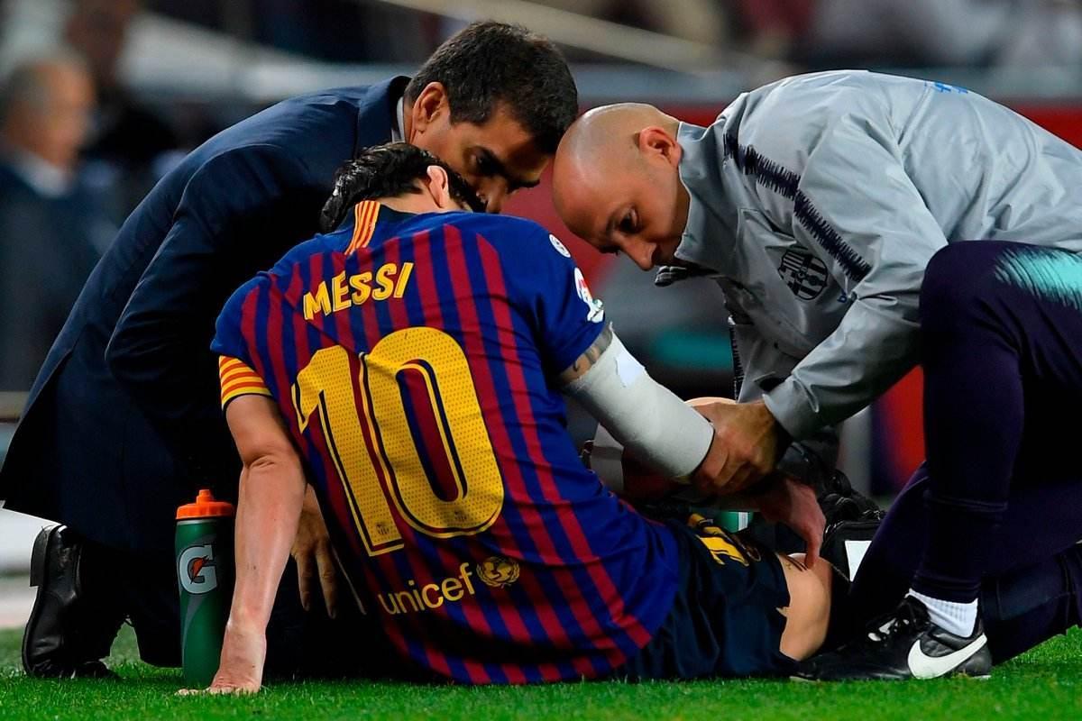 梅西受伤夏窗标王成头号替补 离队计划暂且