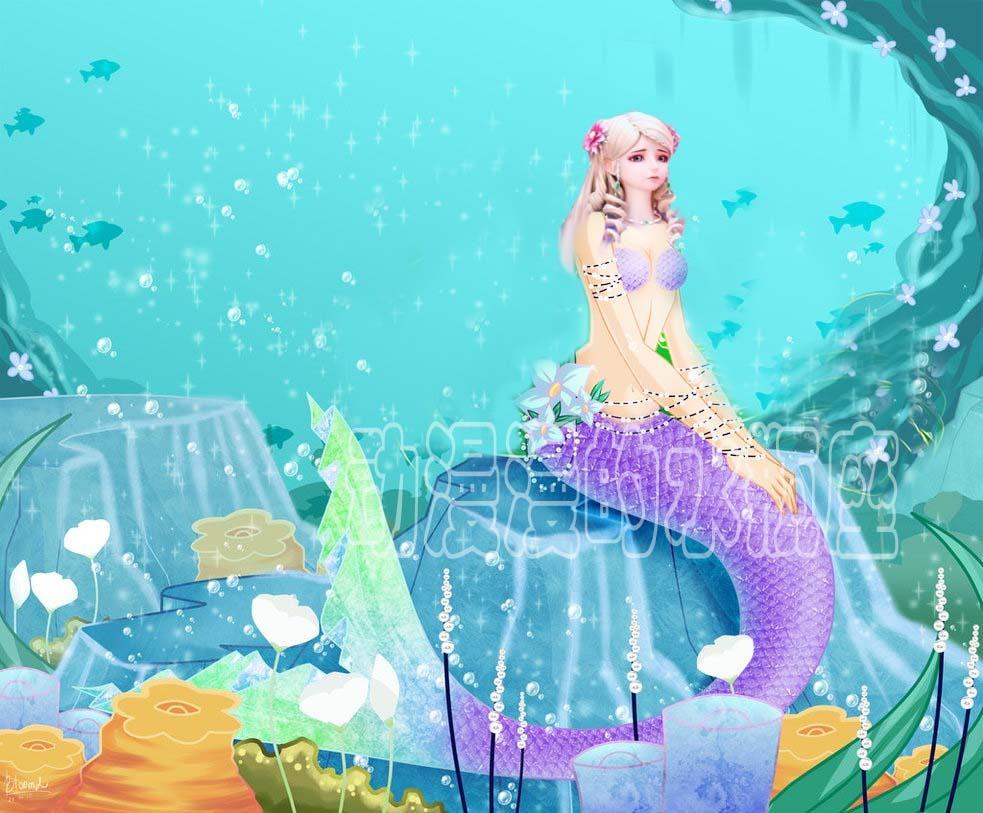 叶罗丽:当公主参加水王子的人鱼舞会,莫纱很优雅,王默惊艳四座